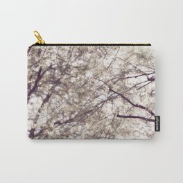 Palo Brea Blossoms on Tree in Lavender Dawn Carry-All Pouch