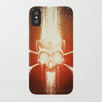 melissa smith iPhone & iPod Cases featuring Black Smith by Dctr. Lukas Brezak