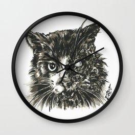 Zombie Cat Wall Clock