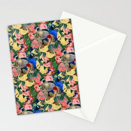 Eternal Peacock Stationery Cards