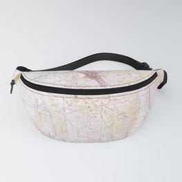ID Pocatello 239407 1984 topographic map Fanny Pack