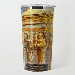 Phrathat Doi Suthep Temple Thailand Travel Mug