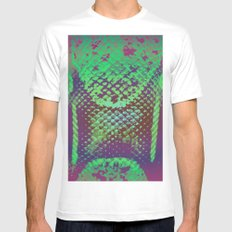A Scaly Surprise Mens Fitted Tee MEDIUM White