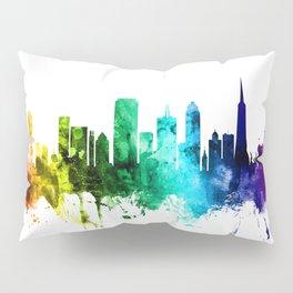 San Francisco California Skyline Pillow Sham