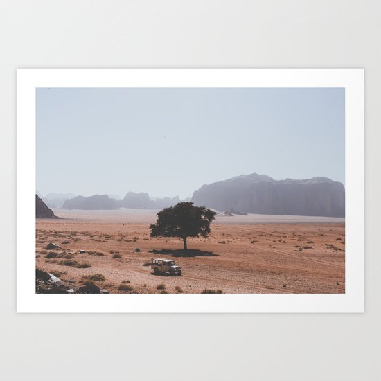 Wadi Rum II Art Print