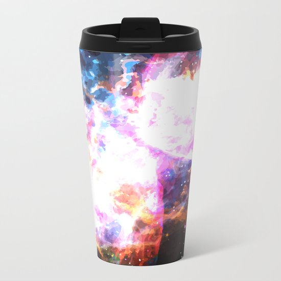 Supernovae Metal Travel Mug