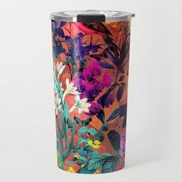Floral and Birds II Travel Mug