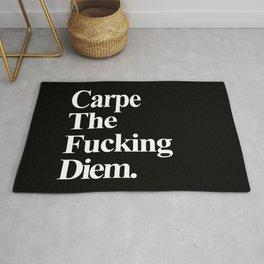 Carpe The Fucking Diem Rug