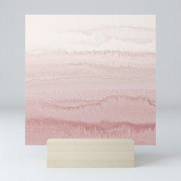 WITHIN THE TIDES - BALLERINA BLUSH Mini Art Print