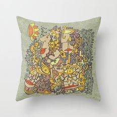 - hermes - Throw Pillow