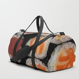 Sushi Pattern Duffle Bag