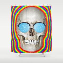 Euphoric Death Shower Curtain