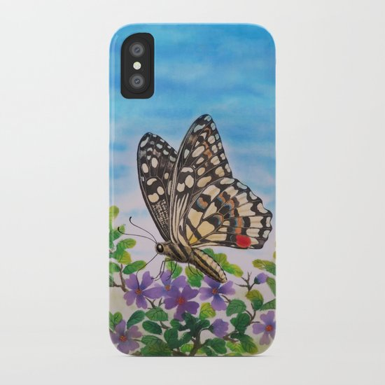 Chequered swallowtail  iPhone Case