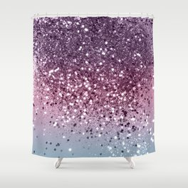 Unicorn Girls Glitter #6 #shiny #pastel #decor #art #society6 Shower Curtain