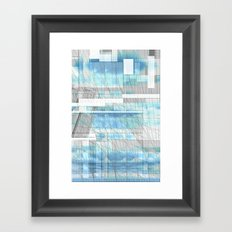 Sky Scraped Framed Art Print