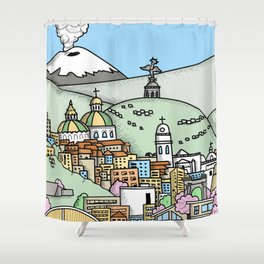 Quito Shower Curtain