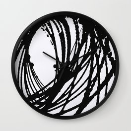Ellipse Wall Clock