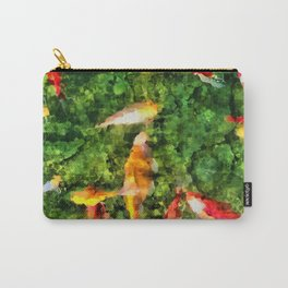 Koi In A Glassy Pool Carry-All Pouch
