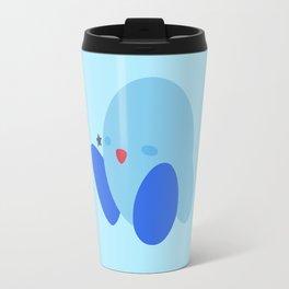 Kirby(Smash)Blue Travel Mug