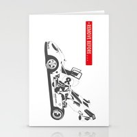 ferrari Stationery Cards featuring Ferrari 512 by Remove Before . . .