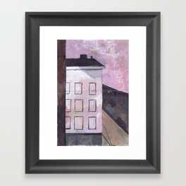 BROOKLYN BUILDING #1 Framed Art Print