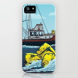 Jaws: The Orca iPhone Case