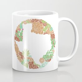 Texas Forever - Earth Coffee Mug