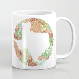 Texas Forever - Earth Coffee Mug