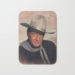 John Wayne, Hollywood Legend Bath Mat