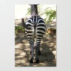 Do These Stripes Make My Butt Look Big? Canvas Print