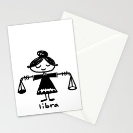 the tao of libra Stationery Cards