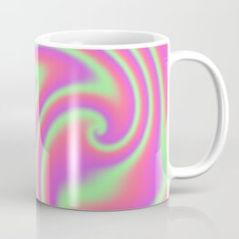 Tutti Frutti Ribbon Candy Fractal Coffee Mug