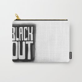 Black Out No.2 Carry-All Pouch