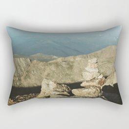 """Not A """"Cairn"""" The World Rectangular Pillow"""