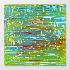Reedy Pond Canvas Print
