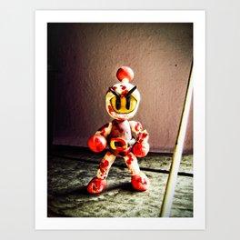 Bomberman Art Print