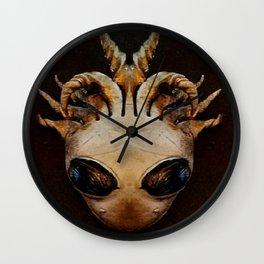 Alien Goddess Wall Clock