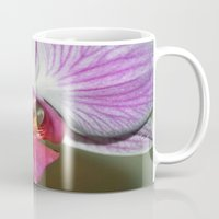 orchid Mugs featuring Orchid  by Sammycrafts