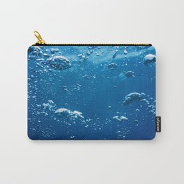 Abstract Bubbles in Water, Air Bubbles Water Background Carry-All Pouch
