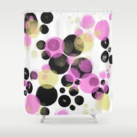 popart Shower Curtains featuring Popart No.4 by soupdesign