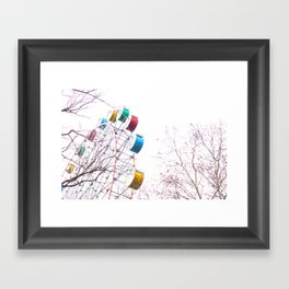 De Fair Framed Art Print