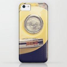 Yellow Beetle iPhone 5c Slim Case