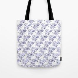 Lilium Speciosum (white) Tote Bag