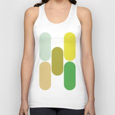 laying down Unisex Tank Top