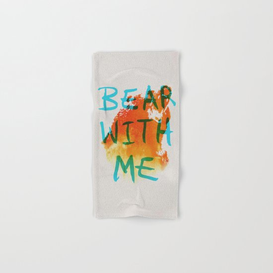 Bear With Me Hand & Bath Towel