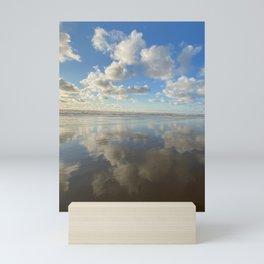 Blue Skies ahead by Seasons Kaz Sparks Mini Art Print
