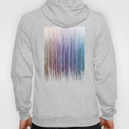 Grunge Dripping Rainbow Misty Forest Hoody