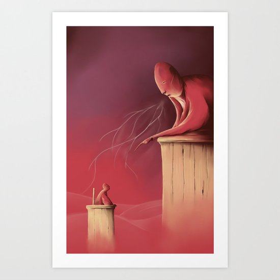 Judgement day Art Print