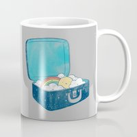 ilovedoodle Mugs featuring Always bring your own sunshine by I Love Doodle