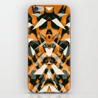 predator iPhone & iPod Skins featuring Predator by Ornaart